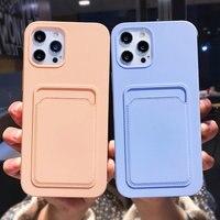 Custodia per telefono originale Color caramella per iPhone 12 Pro Max 11 12 13 Mini XR XS Max X 7 8 Plus 13 custodia protettiva antiurto