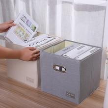 Стиль коробка для хранения Оксфорд тряпичный ящик нетканый сумка для хранения одеяла коробка