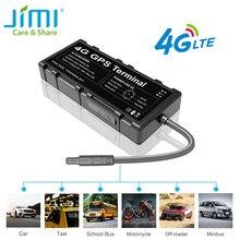 JIMI 4G lokalizator GPS GV40 Hotspot WIFI zachowanie jazdy wodoodporny lokalizator LTE z wibracją odcięcia oleju ACC Alarm SOS przez APP PC