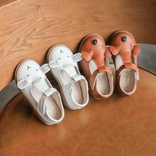 2020 Spring Girl Shoes Carton T-Strap Velcro For Sh