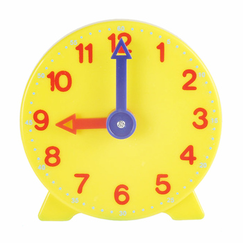 Learn to Tell Time Clock Early Educational Montessori Clock Model Toys for Kids Teaching Experiment Math Teaching Aids image