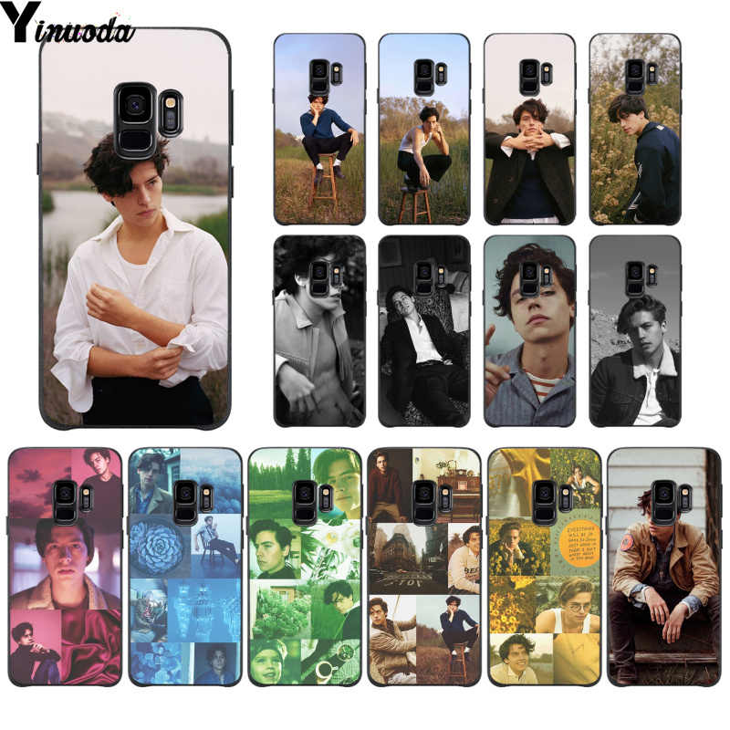 Yinuoda Riverdale Cole Sprouse Colorful Cute Phone Case for Samsung S9 S9 plus S5 S6 S6edge S6plus S7 S7edge S8 S8plus
