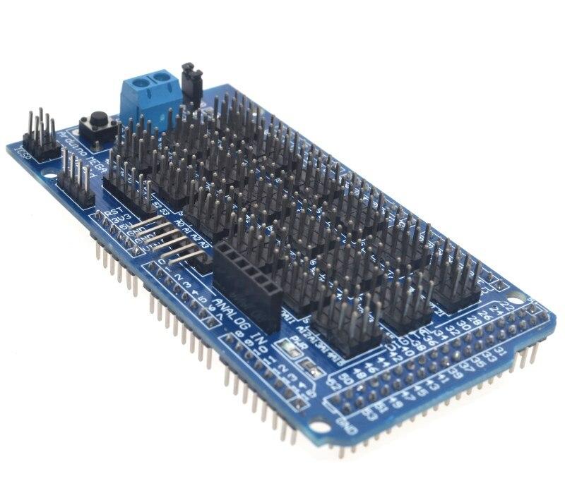 NEW-For Arduino Mega Sensor Shield V1.0 V2.0 Dedicated Expansion Development Board Mega 2560 Sup Iic Bluetooth Sd Robot Parts Di