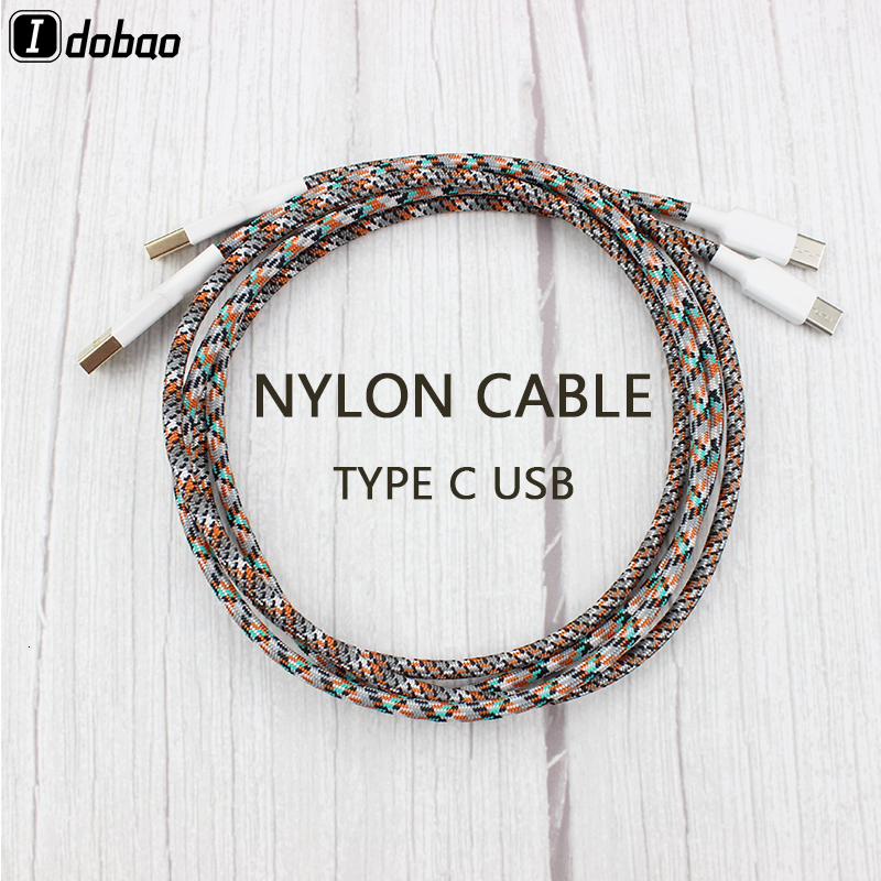 Nylon Cable Wire Mechanical Keyboard GH60 USB Cable Type-c USB  For Poker 2 GH60 Xd64 Xd84 Xd96 Tada68 Keyboard Kit DIY 0.73m