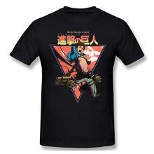 Shingeki No Kyojin Cool et drôle à manches courtes décontracté mode coton T-shirt t-shirts