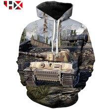2020 nowa gra Tank World Tank World 3D Print modna bluza z kapturem bluza Unisex Harajuku Style śmieszne topy hip hopowe HX156