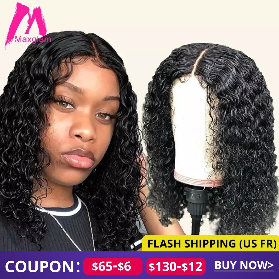 Curly Short Bob Lace Front Human Hair Wigs Brazilian Straight Natural Short Long Remy Hair Wig Afro Pre Plucked For Black Women