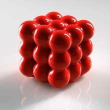 1 шт силиконовые муссы формы для торта магический куб 6 полостей