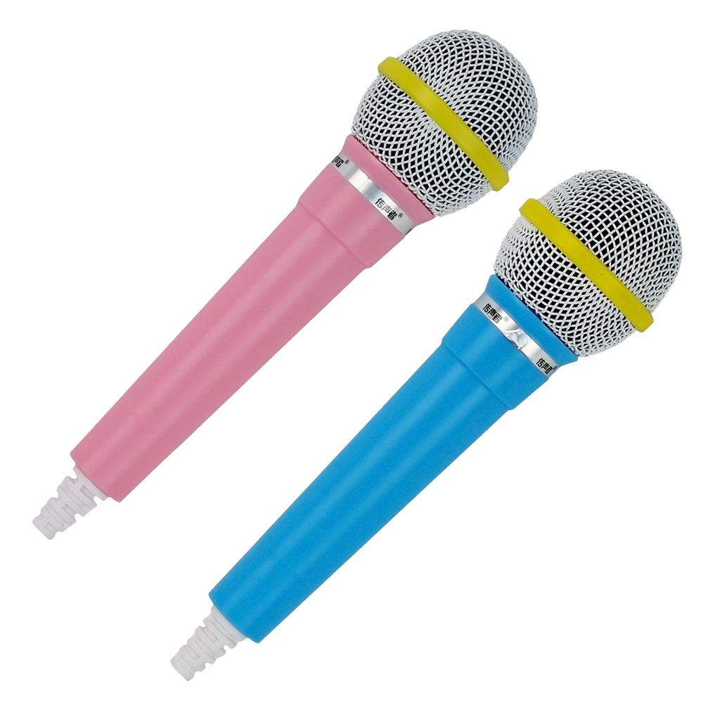 Microphone Prop Costume  Singer Telemarketer Kids Fake Toy Mic Accessory