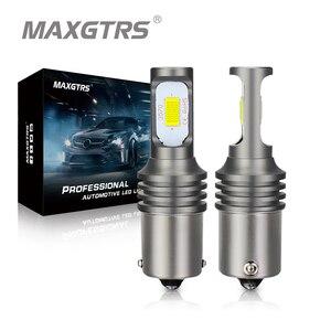 Image 1 - 2x1156 LED ampul BA15S BAY15D 1157 W21W 7440 7443 P21W S25 Canbus 6000K ters işık Back Up kuyruk lambası dönüş sinyali fren lambası