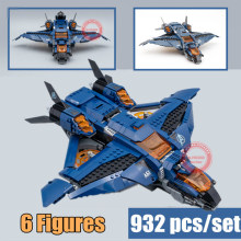 New Superheroes avengers ultimate quinjet fit 4 endgame 76126 marvel building blocks bricks toy kid gift birthday xmas
