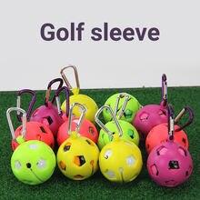 1 шт мяч для гольфа держатель защитный чехол Портативный силиконовые