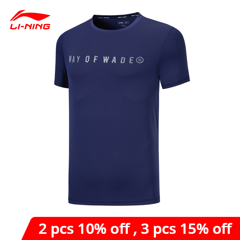 Мужская футболка с подкладкой Li Ning, Спортивная Приталенная футболка из 84% полиэстера, 16 процентов спандекса, с УФ защитой, ATSP129, MTS3070|Баскетбольные майки|   | АлиЭкспресс