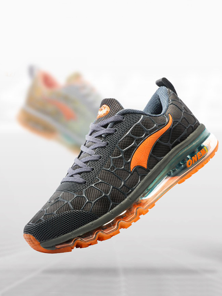 Running-Shoes ONEMIX Air-Cushion Outdoor Designer Mesh Jogging for Loafers 1096 Men's