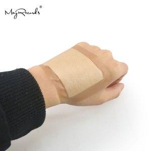 Image 2 - Gratis Verzending Waterdicht Ademend 30Pcs/3 Dozen 7.6cmX10.1cm Grote Band Aid Ehbo Bandages Voor Grote Wonden