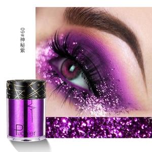 12 Colors Eyeshadow Shimmering Powder Glitter Shimmer Pigment Eye Shadow Palette For Festival Party TSLM1