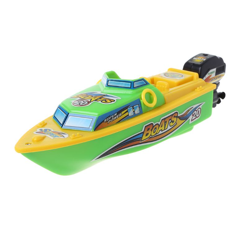 גבוהה מהירות חשמלי סירת פלסטיק השקת ילדי RC צעצועי סירת מרוץ מים לשחק מתנה לילדים
