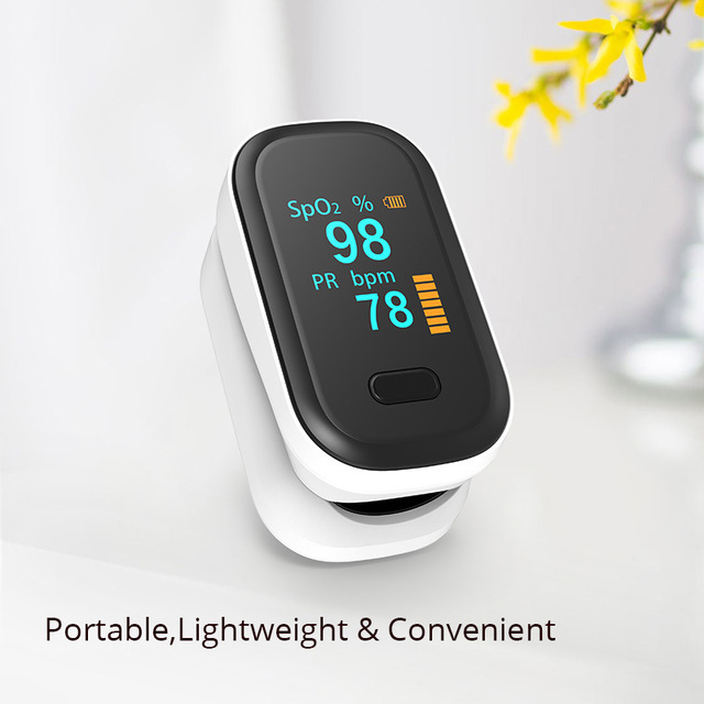 New blood oxygen meter refers to the clip-type pulse finger  saturation monitor 3