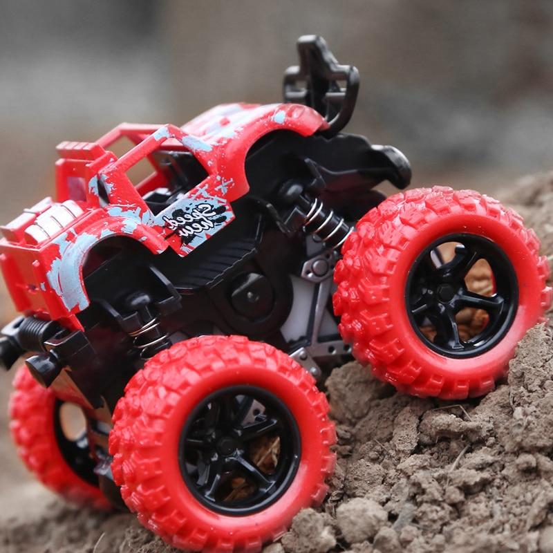 Voiture à inertie enfants incassable modèle de voiture artificielle jouet voiture bébé 2-8 ans garçon bébé quatre roues motrices voiture tout-terrain