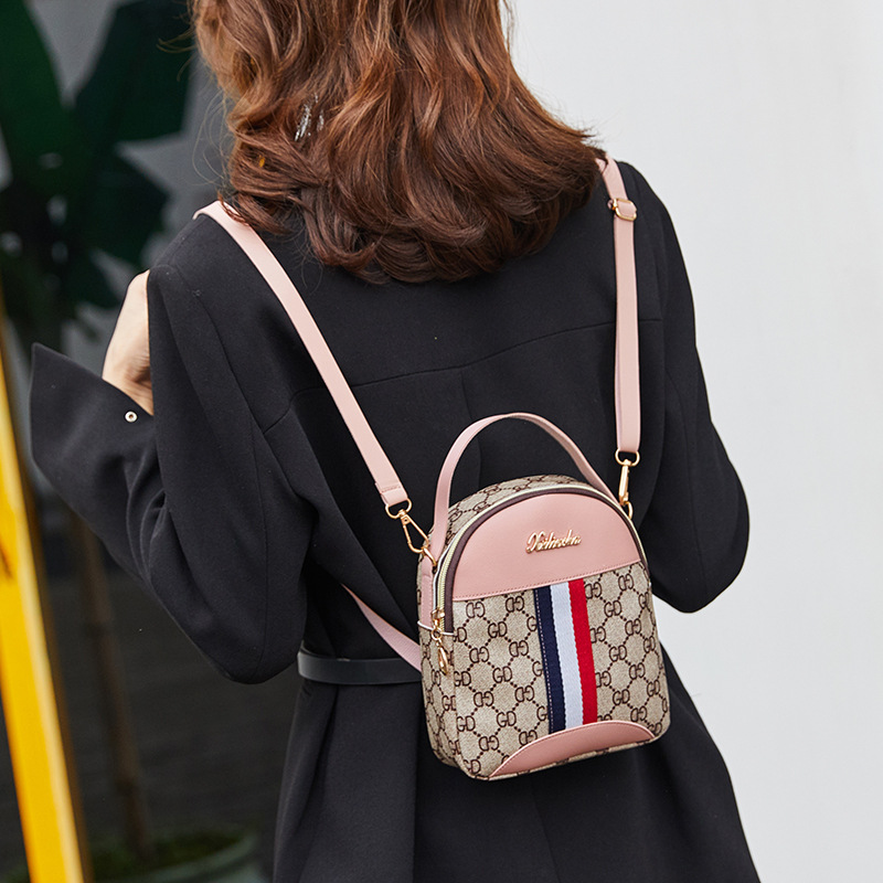 Mini Luxury Backpack For Teenagers Girls Small Schoolbag Women Travel Backpack Female Phone Purse Cosmetic Pouch Crossbody Bag