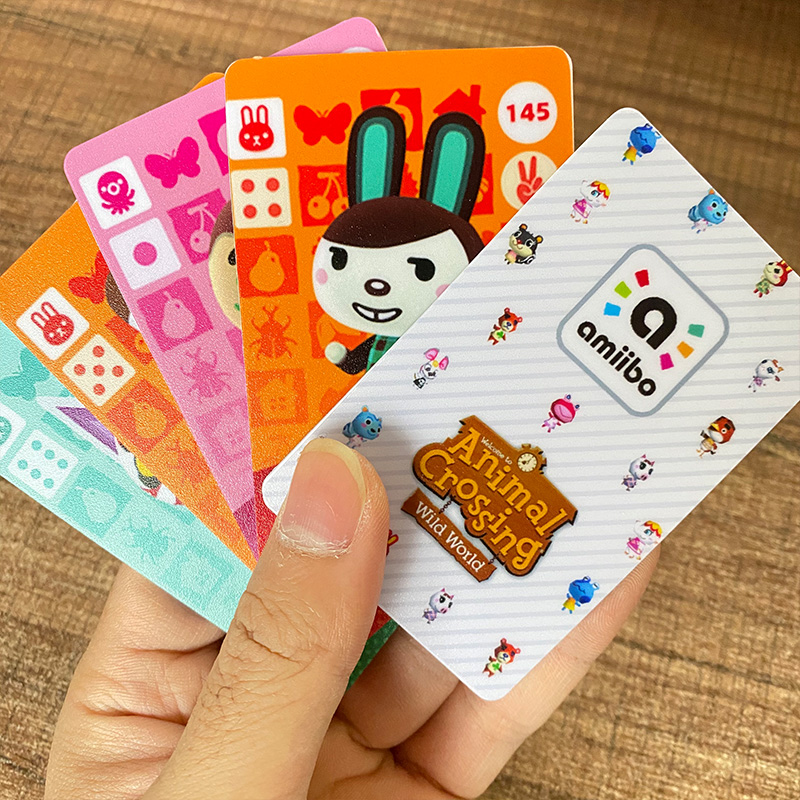 New English version Amiibo Card NS Game Series 2 (121 to 160) Animal Crossing Card Work for(China)