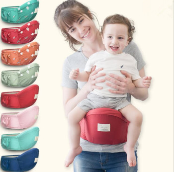 2019 Sept 70-120cm Waist Belt Baby Carrier Waist Stool Walkers Baby Sling Hold Waist Belt Backpack Hipseat Kids Infant Hip Seat