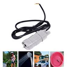 Adeeing 12V DC 5M 600L/H Mini Dompelpompen Motor Waterpomp voor Aquarium Tuin Fontein(China)