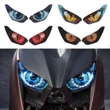 Head-Light-Stickers Accessries Xmax 300 Motorcycle Yamaha Guard for 3D