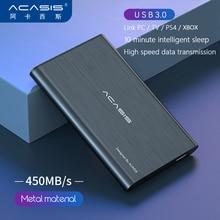 2TB 1TB External Hard Drive 2.5 Portable Hard Drive HD Externo 500G 320G 250G 160G 120G 80G USB3.0 storage 