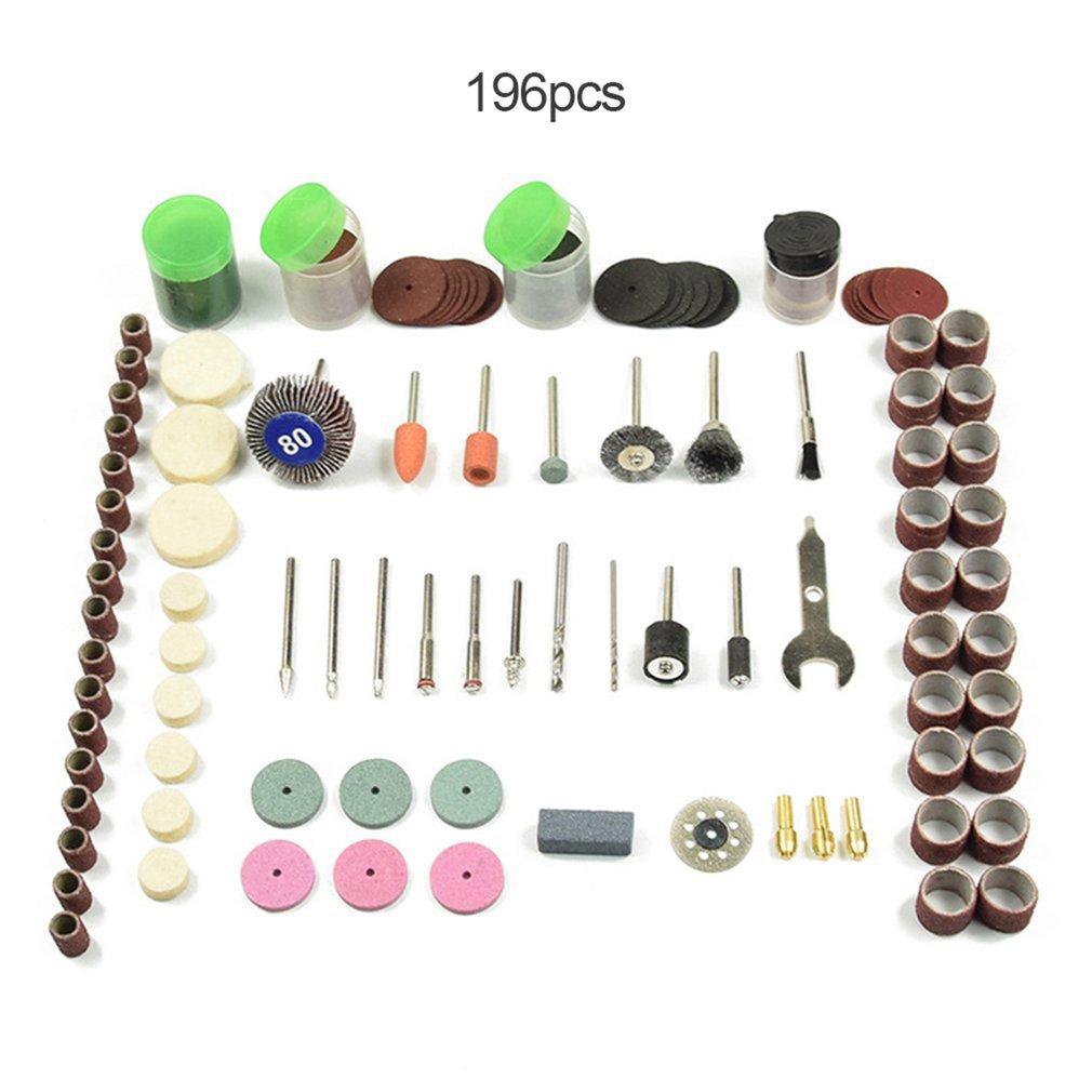 Mini Drill Kit Fits Electric Sanding Cutting Grinding Tool Dremel Polish Accessory Bit Rotary Tool Carving Machine Accessories
