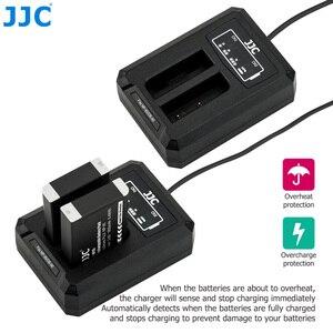 Image 4 - JJC USB Dual Battery Charger for Fujifilm NP 95 NP95 Ricoh DB 90 Batteries on Camera Fuji XF10 X100T X100S X100 Replaces BC 65N