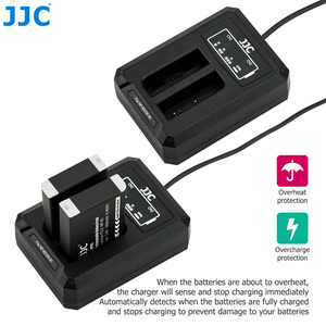 Image 4 - 후지 필름 NP 95 NP95 용 JJC USB 듀얼 배터리 충전기 후지 DB 90 배터리 후지 XF10 X100T X100S X100 대체 BC 65N