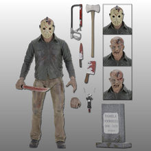 Jason NECA Friday The 13th 3D O Finall Capítulo PVC Action Figure Toy Boneca 18cm(China)