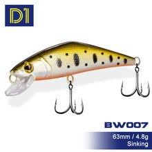 D1 arco-íris truta pique para pesca 2021 pesca isca afundando wobbler de pique minnow 64mm 4.8g acessórios de pesca stream jogo