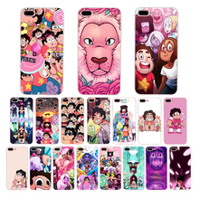 HOUSTMUST Steven Universe funny cartoon phone case for iphone x xs max xr 7 6 8 6s cover 5 se 5s cute anime soft silicone shell