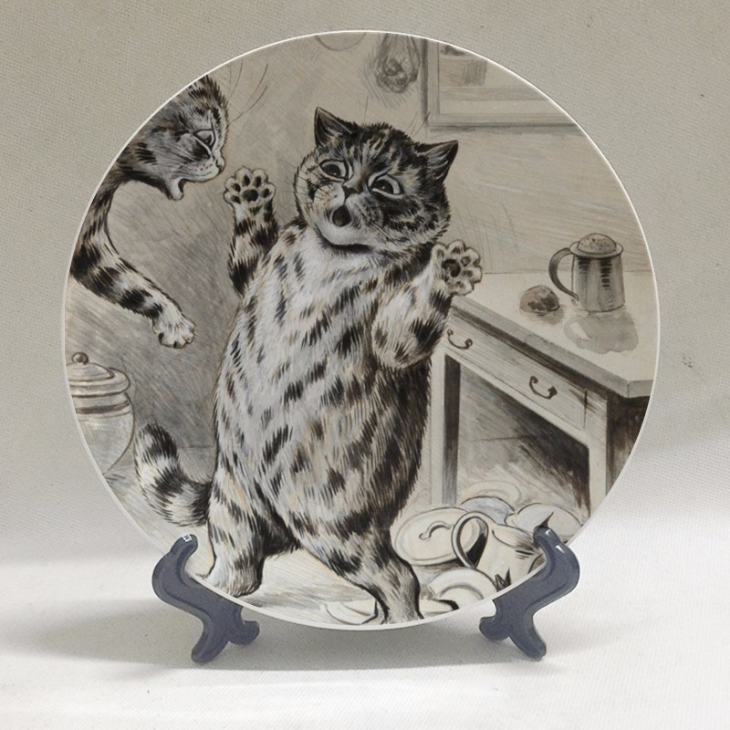 Louis Wain at The Great Cat Store