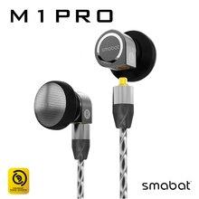 Smabat Earbuds HIFI Metal CNC Earphone 14.2mm Dynamic MMCX 3D Maze Design In Ear Earphone Flat Head Earplugs ST10S NCO M1Pro