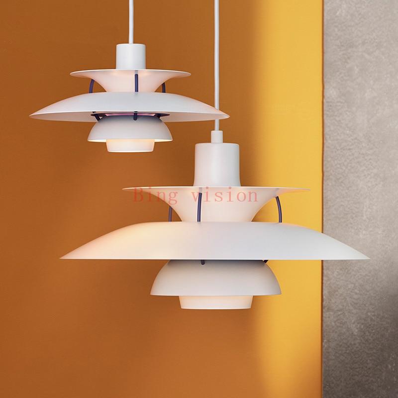 Hoge kwaliteit E27 Hanglamp Kleurrijke Paraplu Led Opschorten Lamp Eetkamer Led Hanglamp Led Lamparas Verlichtingsarmaturen - 5