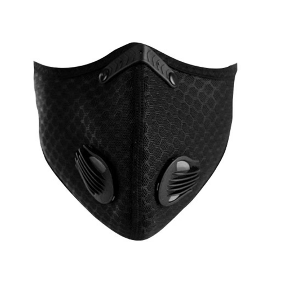 Kn95 Filter Masks For Winter Cycling Shredded Milk Windproof And Breathable Breathing Valve Masks 1 Piece