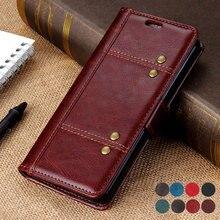 Reno2 Z Reno Z Case Luxury Solid Leather Wallet for Funda OPPO Reno 2