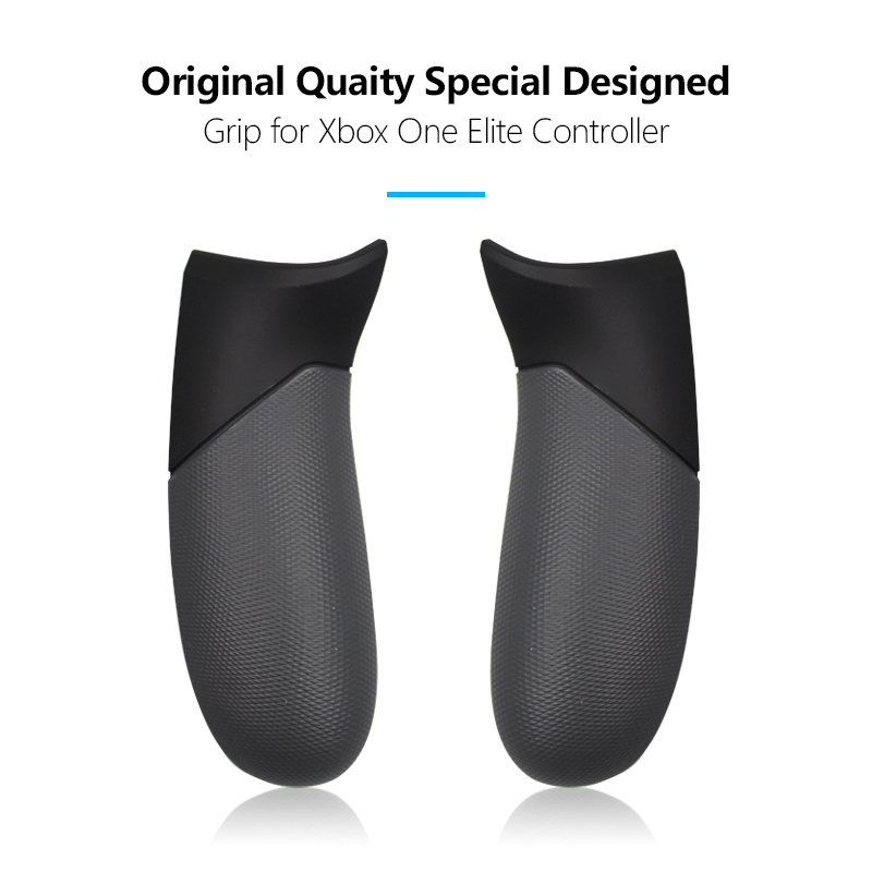 Replacement Parts Gamepad Controller Rubberised Grip Rear Handles For Xbox One Elite Controller Grip Both Right&left Ones