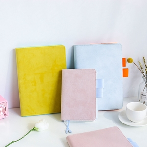 Image 4 - A5 A6 Cloth Cover Loose Leaf Notebook Cover Binder Filler Grid Paper Seperate Planner Receive Bag Card Storage Paper Notepad
