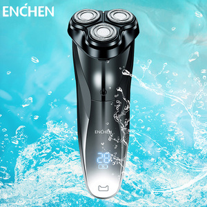 ENCHEN Blackstone 3 Electric Shaver For Men Full Body Washable Rechargeable Beard Trimmer Shaving Machine Electric Razor