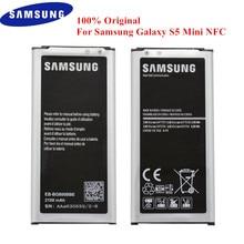 원래 배터리 EB BG800BBE 삼성 갤럭시 S5 미니 SM G800 G800F G800A G800H G800M G800R4 G800Y G800R 2100mAh NFC