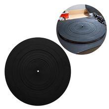 Tapis antidérapant en caoutchouc de LP de garniture de Silicone danti vibration pour des accessoires de lecteurs de disque vinyle de platine de phonographe