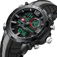 CHEETAH Men Watch orologi di lusso a doppio Display di lusso di marca superiore orologio analogico digitale a LED cronografo sportivo orologio impermeabile