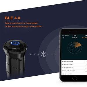 Image 4 - Coollang 3,0 Smart Badminton Schläger Sensor Tracker Drahtlose Bluetooth Motion Analyzer für Android IOS Smartphone Sport Tracker