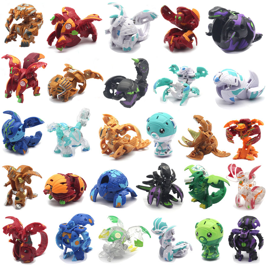 Bakuganes, Trox, 5.08 cm high collectible dolls and trading cards, suitable for children 6 years old and above