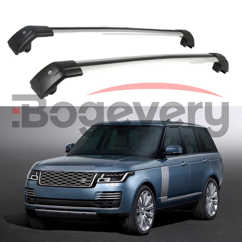 Crossbars Fits For Land Rover Range Rover Vogue 2014 2015 2016 2017 2018 2019 Baggage Roof Racks Rail Cross Bars