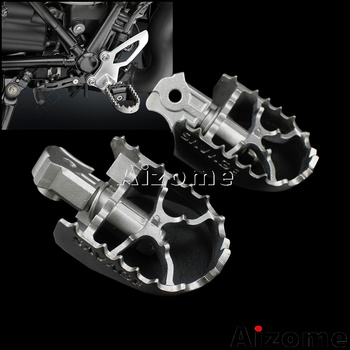 Motorcycle Steel Anti-slip Foot Pegs Footrests For BMW R nineT 2014-2018 R9T R nine T Front Foot Pedal